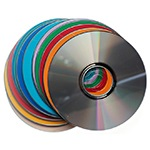 CDs, DVDs, Floppy Disks and Record Albums