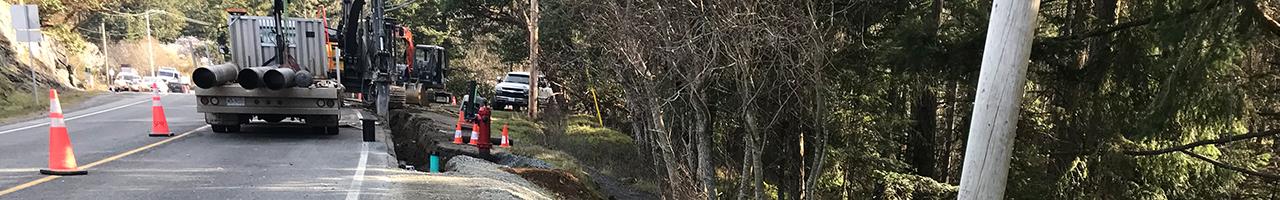 Strathmore Road Water Main Upgrade